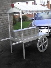 Sweet Cart plus accessories perfect for weddings