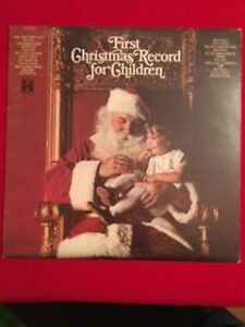 "Harmony Records ""FIRST CHRISTMAS RECORD FOR CHILDREN"" LP 60s"