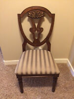 PAIR OF ASHLEY ACCENT CHAIRS