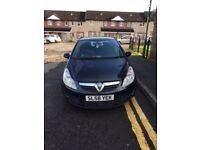 Black Vauxhall Corsa, like new
