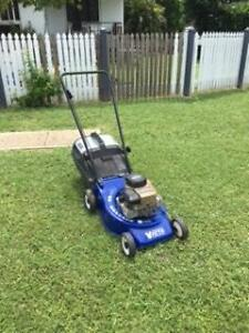 Two lawn mowers Rasmussen Townsville Surrounds Preview