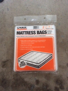 Moving Mattress Bags by Uhaul in all Sizes