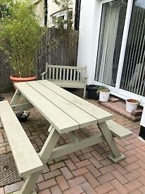 GARDEN BENCH - VERY SOLID AND EXCELLENT QUALITY