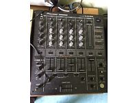 DJ decks Technics Pioneer mixer Samson 80A speakers 100 vinils of electro & tecno