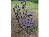 2 Gorgeous Garden Chairs - New and Unused