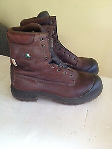 * Steel Toe Work Boots* Kodiac Brand- Size 9.5 Wide*