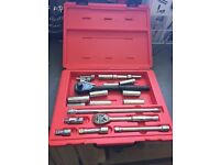 "Snap On 38"" drive socket wrench set"