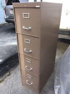 TALL 4-DRAWER FILING CABINET
