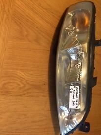 Vauxhall Vectra B headlight O/S driver side