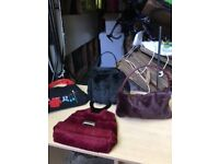 Four fashion handbags - little used and in good condition.