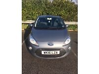 Ford Ka 1.2 Zetec, FSH, 6150 miles, 1 lady owner-Excellent inside and out. Great buying opportunity