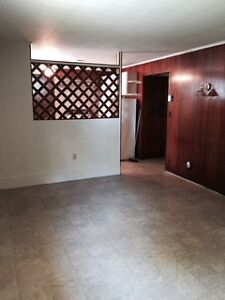 Two bedroom basement appartment