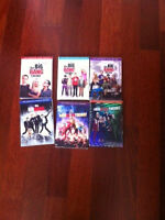 Big Bang Theory, Seasons 1-6 DVD.