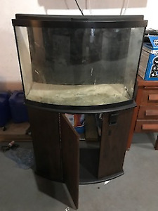 36 Gallon Bow Front Aquarium and Stand
