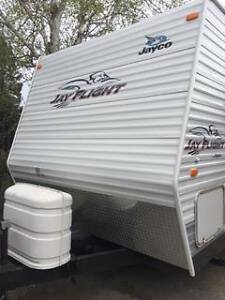 2008 30 foot Jayco Jayflight Camper Trailer