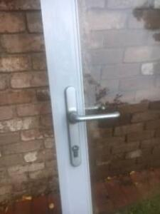 Aluminium glass patio french doors 2 pairs Bragain price Scoresby Knox Area Preview