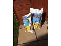 2 bags of Playsand