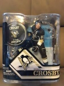 McFARLANE Sidney Crosby with Puck Figure Pittsburgh Penguins NHL