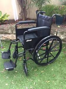 Folding Wheelchair New Claremont Nedlands Area Preview