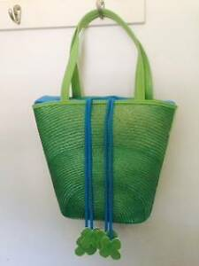 Green Handbag and Beach Bag In One. Brand New Lawnton Pine Rivers Area Preview