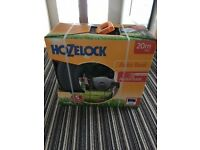 HOZELOCK 2490 WALL MOUNTED AUTO HOSE REEL WITH 20 METRE HOSE Brand New in Box