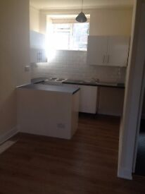 Recently refurbished one bed flat. DSS considered. Low deposit.