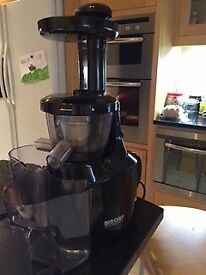 Vitality 4 Life Bio Chef Silent Cold Press Juicer Black