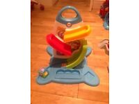 Roller Blocks Play Wall Fisher price excellent condition