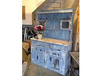 stunning rustic dresser[£60 if collected asap]
