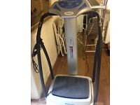 Medicare Vibration Plate Series 300 Unis. Hardly used. Will deliver if local.