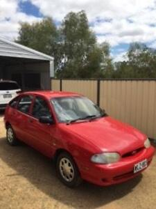 1999 Ford Festiva Hatchback Balaklava Wakefield Area Preview