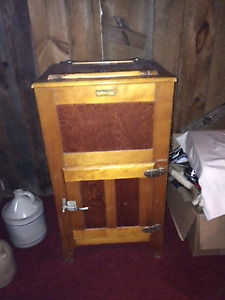 Antique Icebox