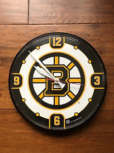 Boston NHL Wall Clock