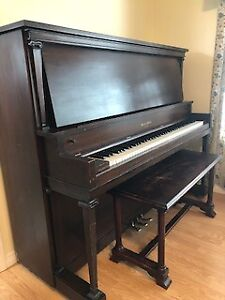 mason and rich upright piano