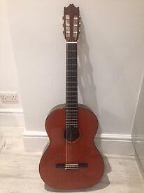 Rare classical guitar made in Japan model no. 2855