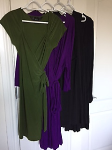 Four Womens Dresses of Various colours and Models