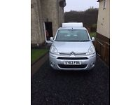 citroen berlingo multispace vtr,hdi silver motd untill nov 2018 full history very low 32k miles
