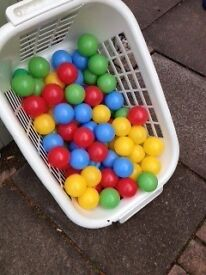 Toddlers plastic colourful Balls