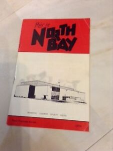 1970 Visitors' Guide issued by city of North Bay
