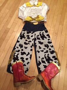 Disney Jessie Halloween Costume - size 9/10