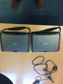 Laptops. Two Getac Laptops for Sale
