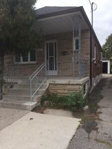 Dufferin & Castlefield 2 Bedrm W/Finished Bsmnt House For Lease