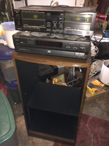Stereo - Kenwood Receiver and Double Cassette Deck