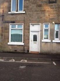 One Bedroom unfurnished flat to rent in Kirkintilloch (Victoria Street). Own front door.