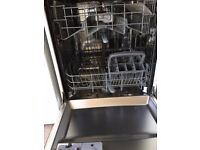 White BEKO dishwasher 2 years old perfect working order