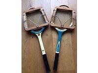 Vintage Wooden Tennis Racquets