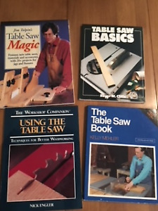 Table Saw Books