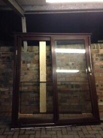 Sliding Patio Door with Side Screen