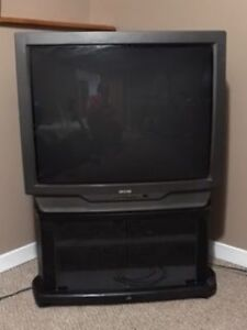 Sears Brand TV and Stand