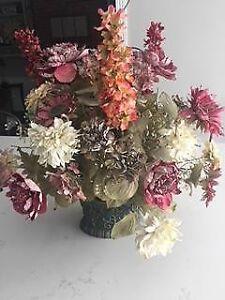 Large Silk Flower Arrangement
